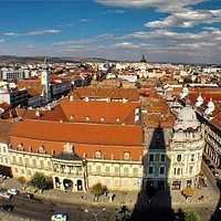 Banffy Palace in Cluj-Napoca was built in 1775 and it is the Museum of Art.