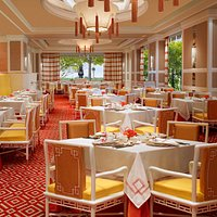 Michelin-starred Chinese restaurant, serving classic Cantonese cuisine and dim sum.