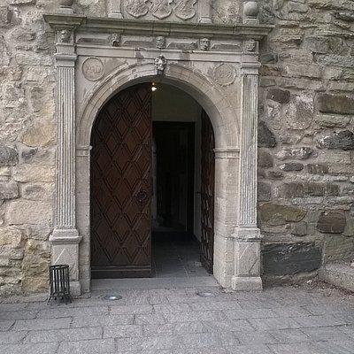 Tourist info entrance