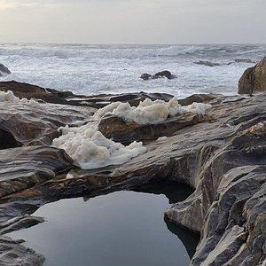 берег подальше от пляжа