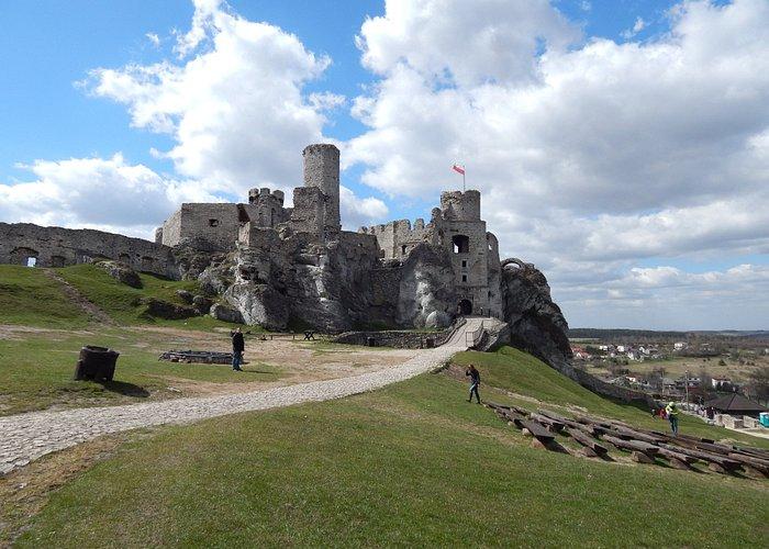 Orle gniazda - ruiny Olsztyn