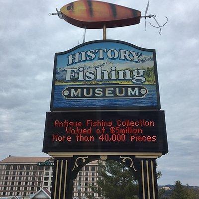 Various photos of museum