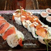 Sushi at Momo Sushi
