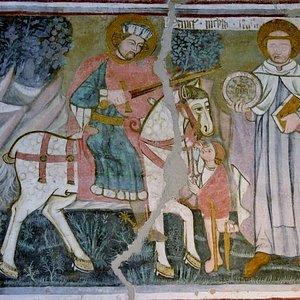 Affresco di San Martino