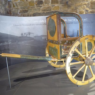 The Etruscan chariot