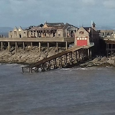 The former RNLI ramp