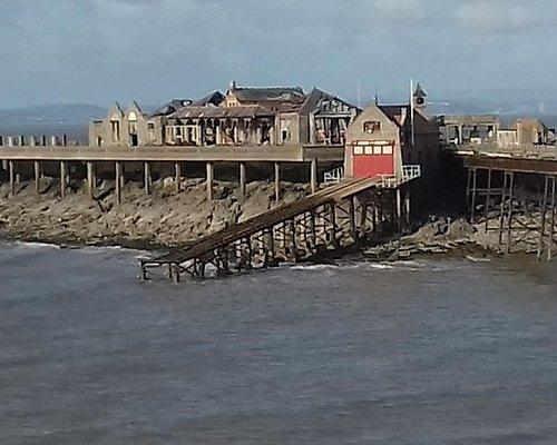 The former RNLI ramp
