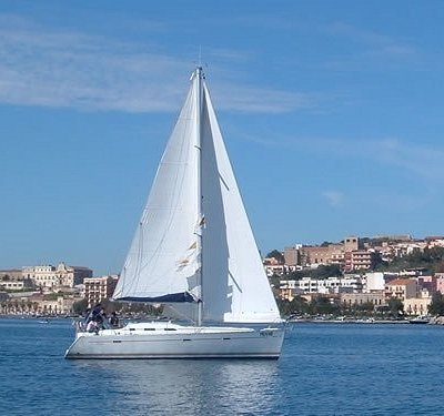 Sailboats are available for charters around Milazzo, Taormina, and the Aeolian and Aegadian Isla