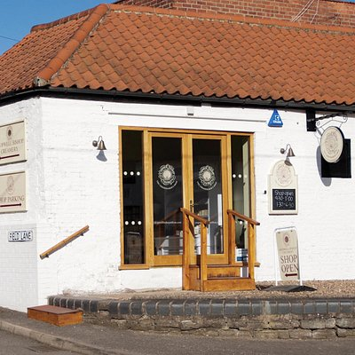 Outside view of The Cheesemaker's Shop