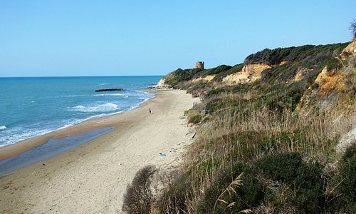litorale di Tor Caldara