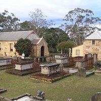 Ebenezer Church (1809) and the Schoolmaster's House (1817)