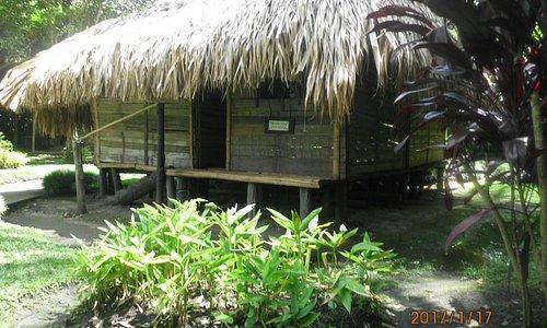 Vivienda rustica de la región azucarera de Colombia