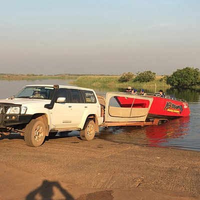 Our Accredited 4WD launching in the Billabong