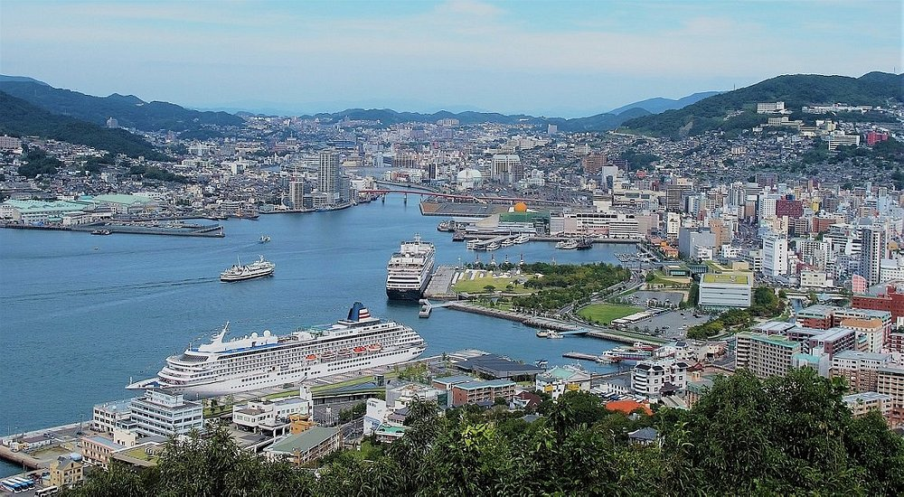 View of Nagasaki Port