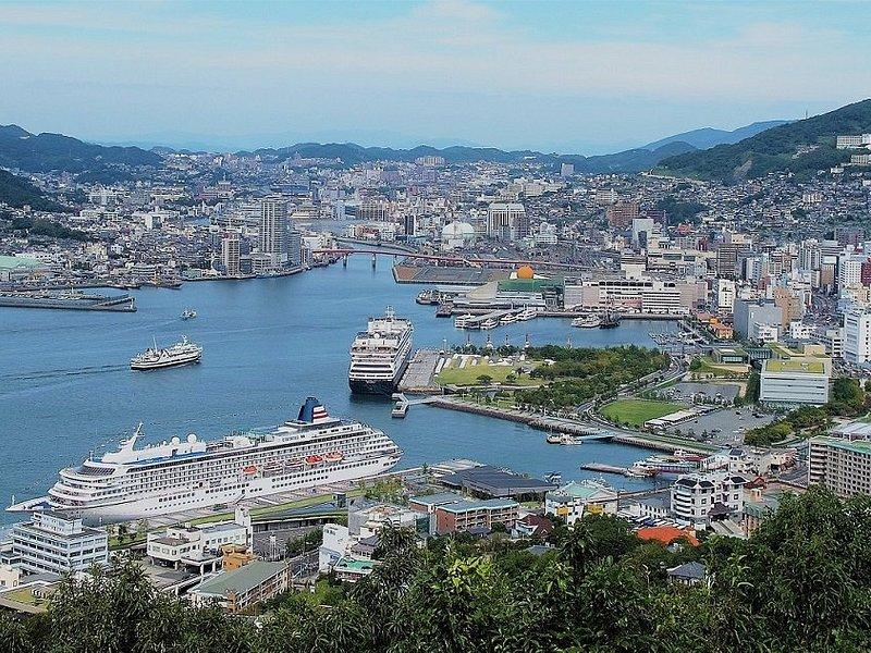 View of Nagasaki Port