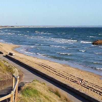 Mentone Beach - great send and walking path!