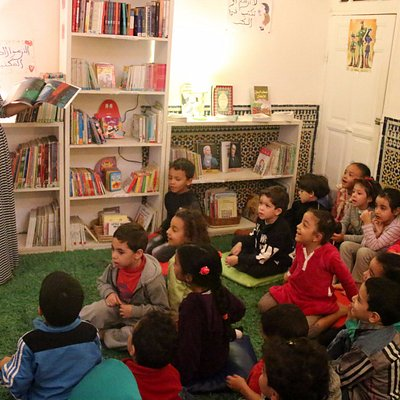 """Story Time for some young """"pre-readers"""""""
