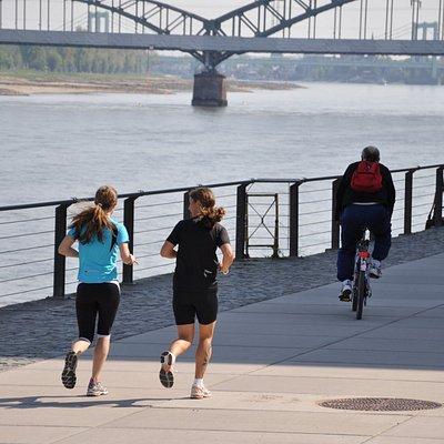 Am Rhein entlang...