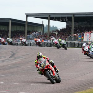 British Superbikes at Thruxton Circuit