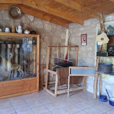 Interior recinto pequeño museo