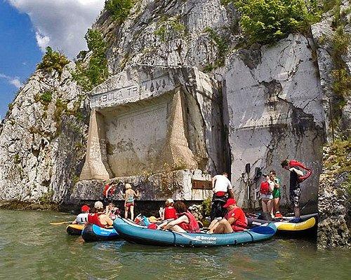 Iron gate kayak adventure tour on Danube River