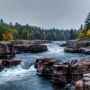 Pabineau falls