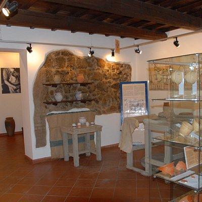 ricostruzione della parte medievale