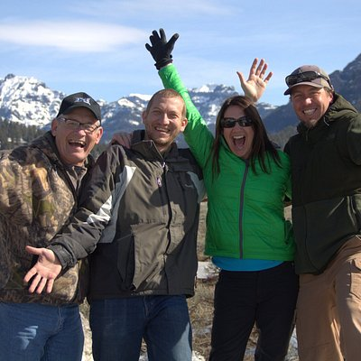 Great day in Yellowstone with family and Yellowstone Insight!!!