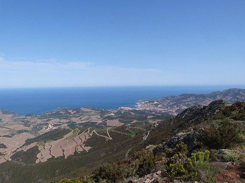 La vue exceptionnelle depuis la Tour Madeloc
