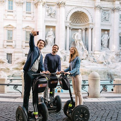 Rome City Segway Tour - Trevi Fountain