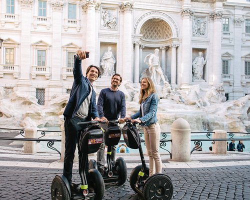Rome City Segway Tour - Trevi Fountain