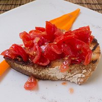 Free Appetiser - Tomato's on Toast
