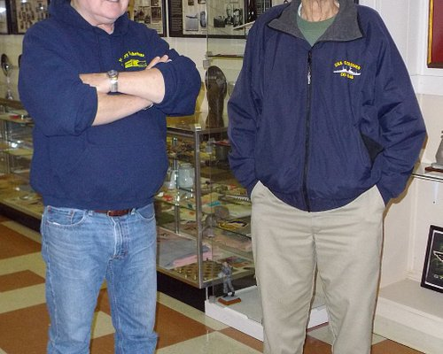 Owner Lee and one of his guides, who served in WWII.