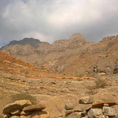 The Al Hajar mountains