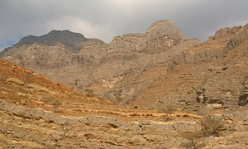 The Al Hajar mountains