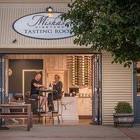 Misha's Vineyard Tasting Room - the perfect place to taste wines or just enjoy a glass or bottle