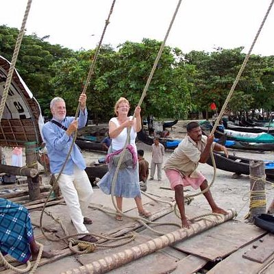 Jack & Marlyn on Work Chinese Fishing Nets
