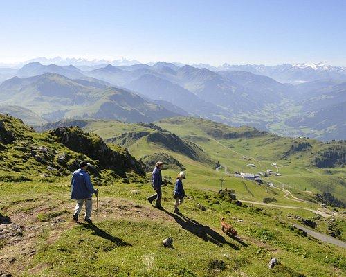 Das Kitzbüheler Horn bietet verschiedenste Wanderwege an.
