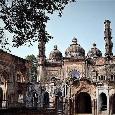 PRIVATE MOSQUE OF BEGUM INSIDE RESIDENCY