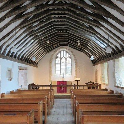 St Swithun's Church - interior