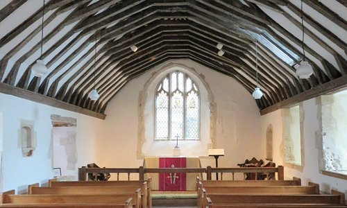 St Swithun's Church - interior