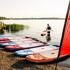 Choose your paddle-board and your set to go!