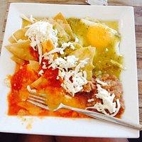 Huevos Divorciados is a great breakfast choice