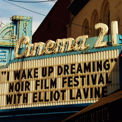 Cinema 21 marquee