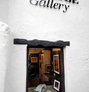 A tiny view into large gallery of unique artwork........