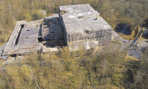 vue d'ensemble du bunker