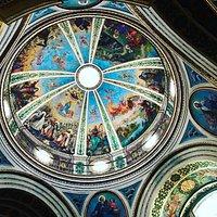 Inside of church