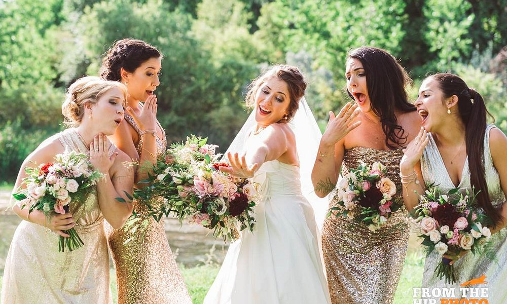 Audrey and Devyne provided hair and makeup for this beautiful bridal group