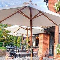 The Rising Sun pub, restaurant, Milland, Liphook, Hampshire
