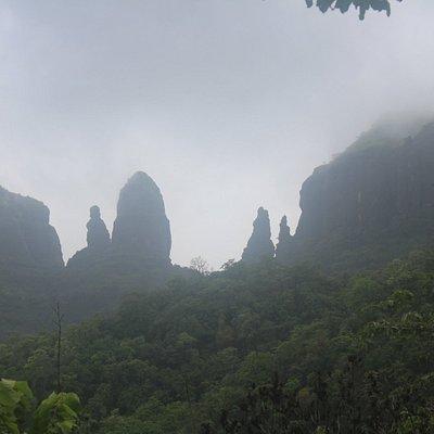 Pinnacles of Mahuli Fort